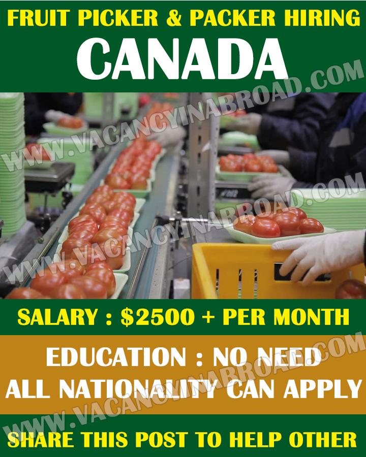 Picker & Packer Demand in Canada