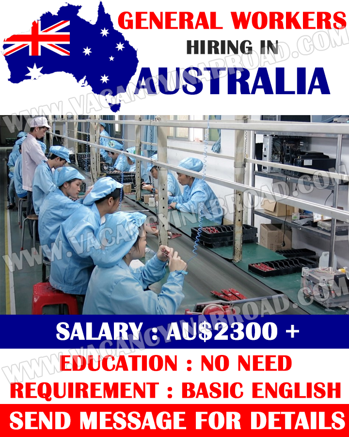 General Workers Demand in Australia