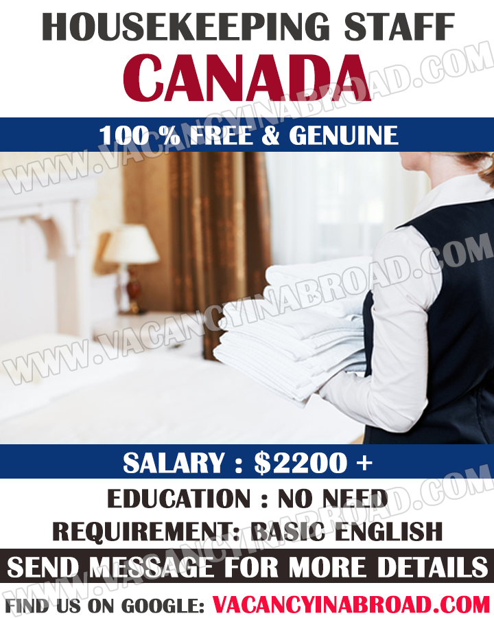Housekeeping Staff Demand in Canada