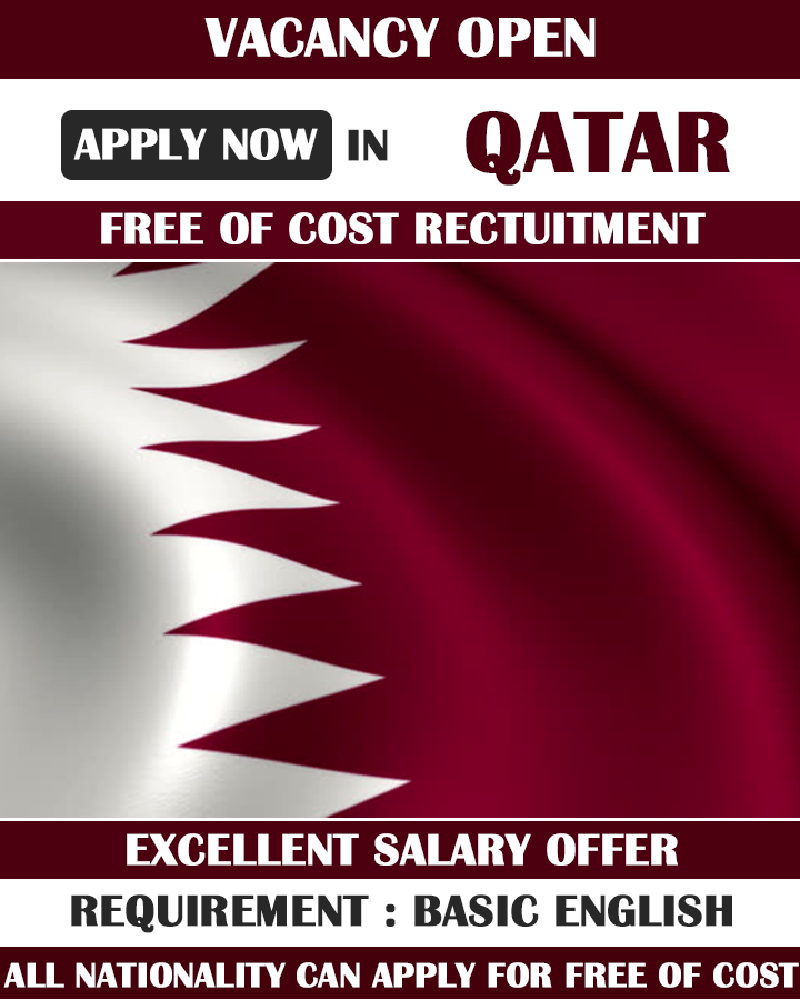 Large vacancy open in Qatar