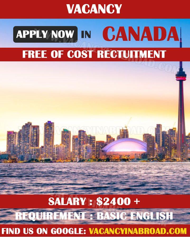 Vacancy in Canada 2021